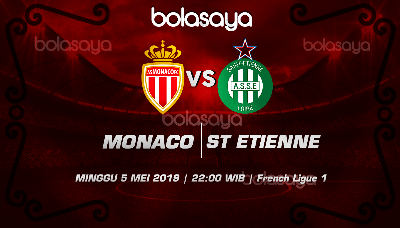 Prediksi Taruhan Bola Monaco vs St Etienne 5 Mei 2019