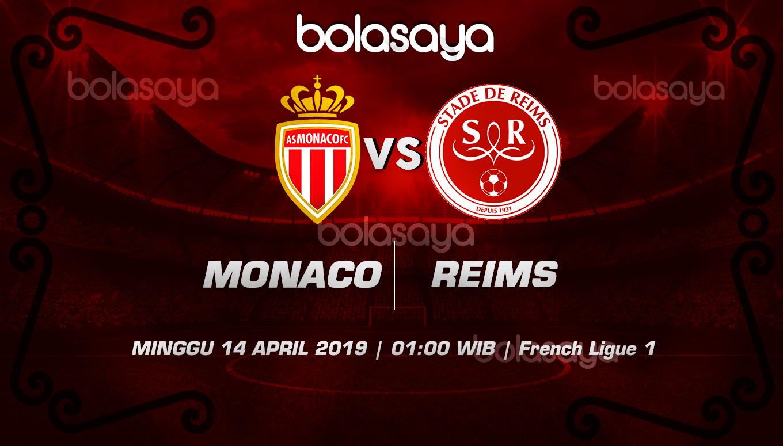Prediksi Taruhan Bola Monaco vs Stade de Reims 14 April 2019