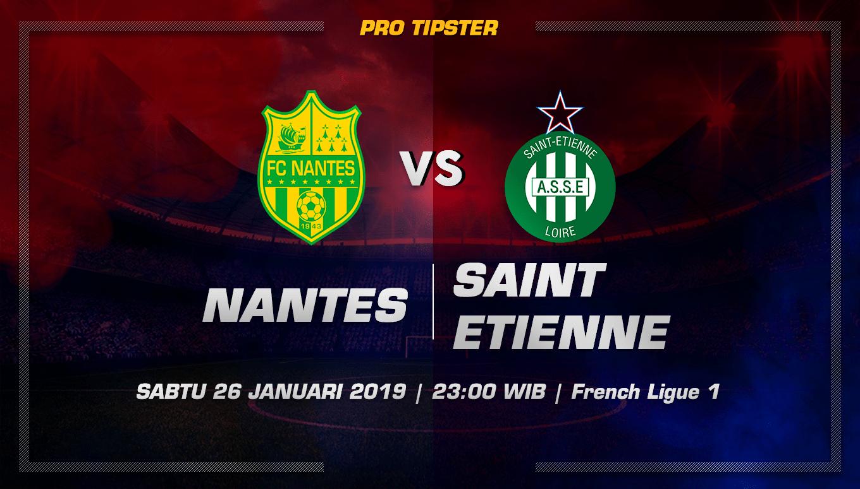 Prediksi Taruhan Bola Nantes vs Saint Etienne 26 Januari 2019