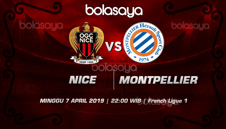 Prediksi Taruhan Bola Nice vs Montpellier  7 April 2019