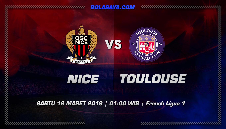 Prediksi Taruhan Bola Nice vs Toulouse 16 Maret 2019