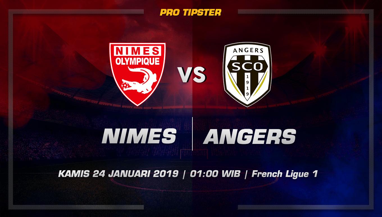 Prediksi Taruhan Bola Nimes vs Angers 24 Januari 2019