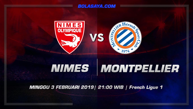 Prediksi Taruhan Bola Nimes vs Montpellier 3 Februari 2019