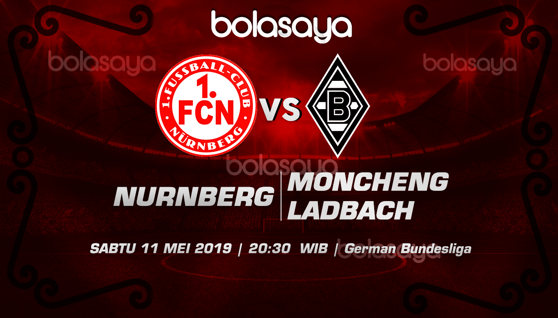 Prediksi Taruhan Bola Nurnberg vs B. Monchengladbach 11 Mei 2019