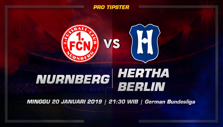 Prediksi Taruhan Bola Nurnberg vs Hertha Berlin 20 Januari 2019