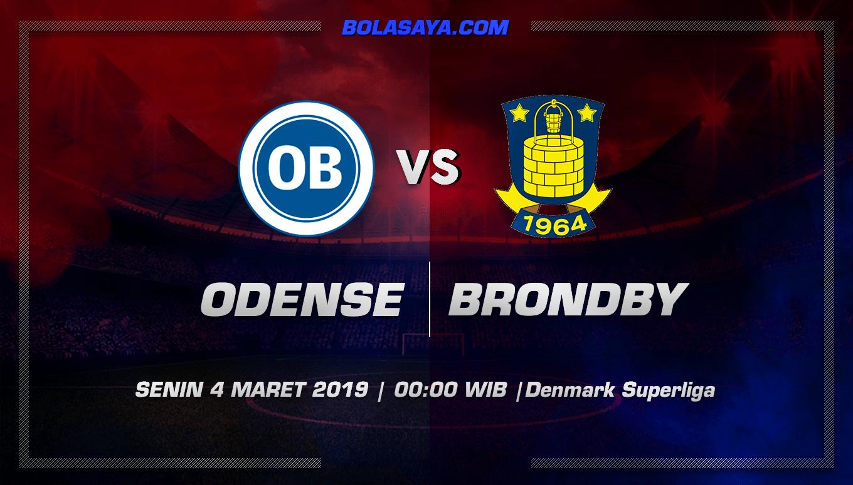 Prediksi Taruhan Bola Odense vs Brondby 4 Maret 2019