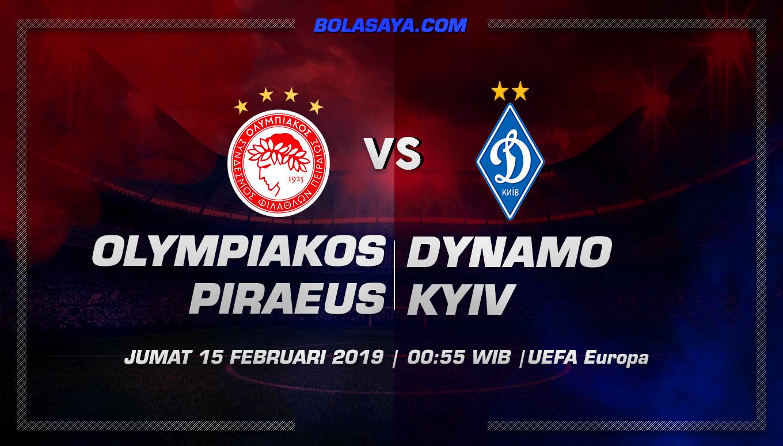 Prediksi Taruhan Bola Olympiacos Piraeus vs Dinamo Kiev 15 Februari 2019