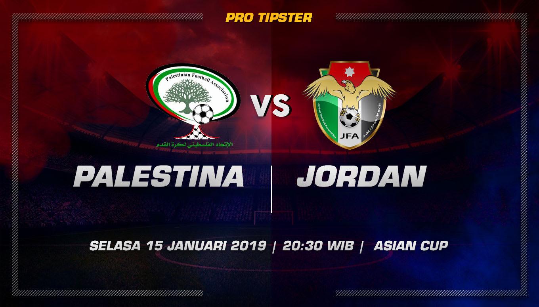 Prediksi Taruhan Palestina vs Yordania 15 Januari 2019