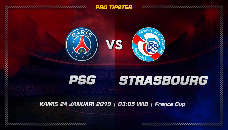 Prediksi Taruhan Bola Paris Saint Germain Vs Strasbourg 24 Januari 2019