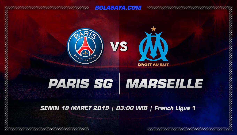 Prediksi Taruhan Bola Paris Saint Germain vs Marseille 18 Maret 2019