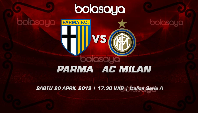 Prediksi Taruhan Bola Parma vs AC Milan 20 April 2019