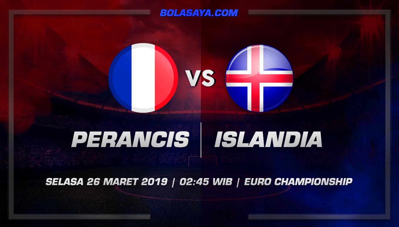 Prediksi Taruhan Bola Perancis vs Islandia 26 Maret 2019
