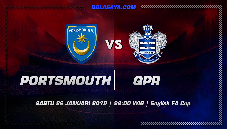Prediksi Taruhan Bola Portsmouth vs QPR 26 January 2019