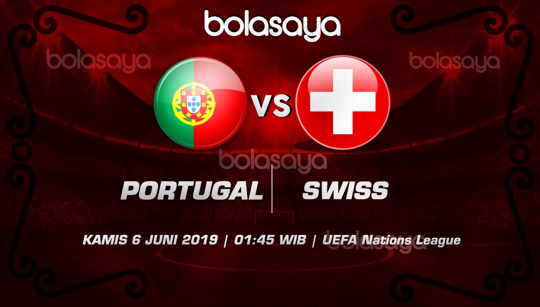 Prediksi Taruhan Bola Portugal vs Swiss 6 Juni 2019