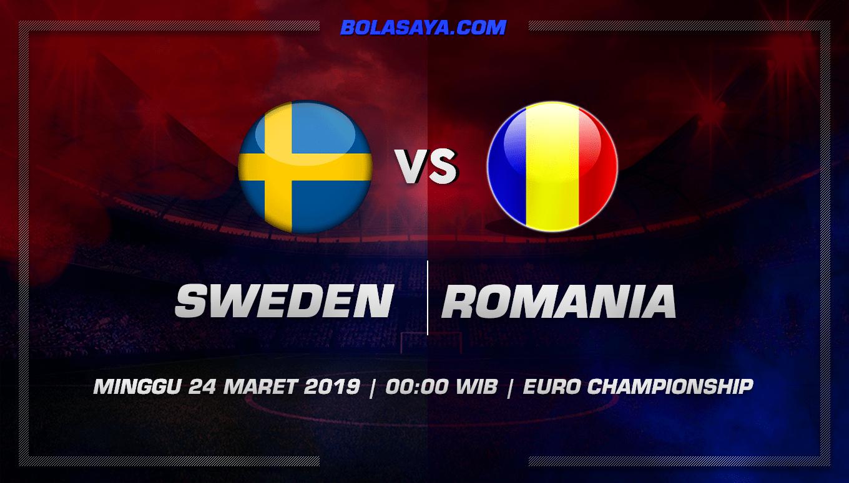 Prediksi Taruhan Bola Sweden vs Romania 24 Maret 2019