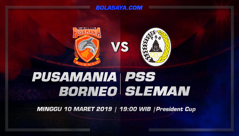 Prediksi Taruhan Bola Pusamania Borneo vs PSS Sleman 10 Maret 2019