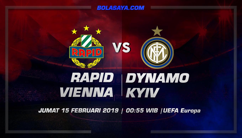 Prediksi Taruhan Bola Rapid Wien vs Inter Milan 15 Februari 2019