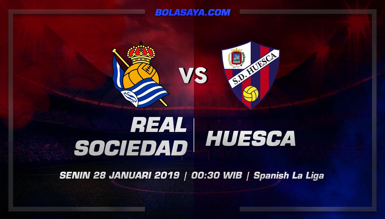 Prediksi Taruhan Bola Real Sociedad vs Huesca 28 Januari 2019