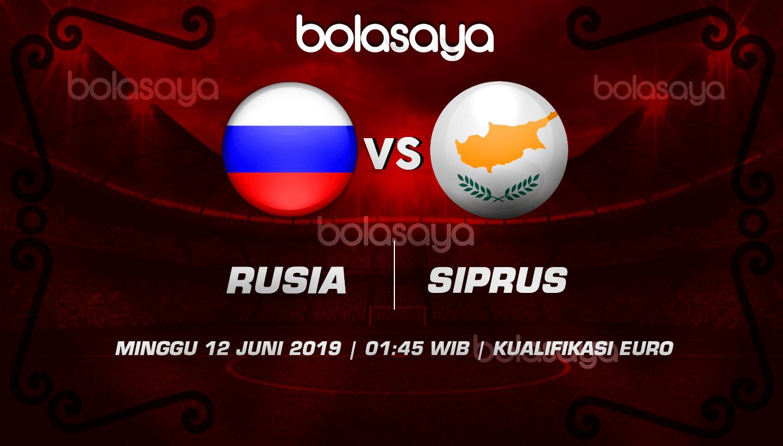 Prediksi Taruhan Bola Rusia vs Siprus 12 Juni 2019