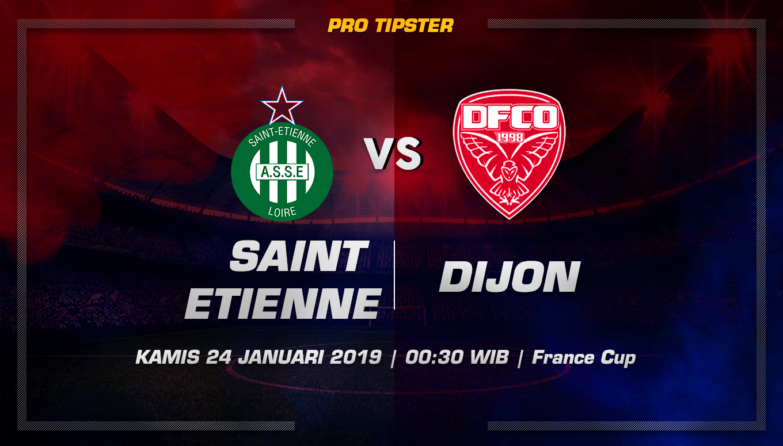 Prediksi Taruhan Bola Saint Etienne vs Dijon 24 Januari 2019