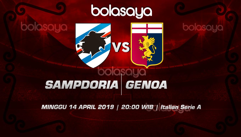 Prediksi Taruhan Bola Sampdoria vs Genoa 14 April 2019
