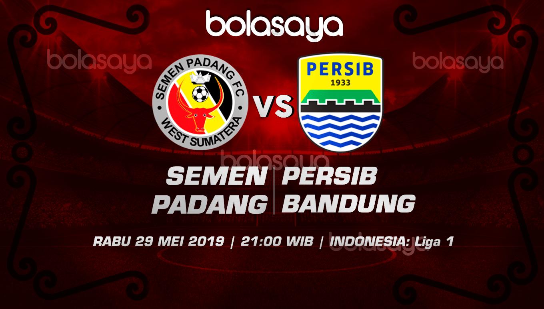 Prediksi Taruhan Bola Semen Padang vs Persib Bandung 29 Mei 2019