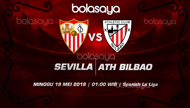 Prediksi Taruhan Bola Sevilla Vs Athletico Bilbao 19 Mei 2019
