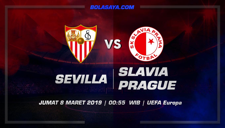 Prediksi Taruhan Bola Sevilla vs Slavia Prague 8 Maret 2019