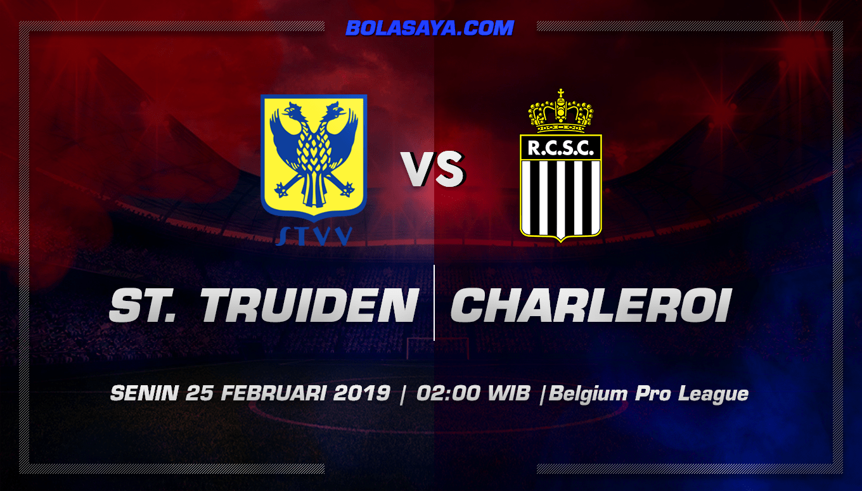 Prediksi Taruhan Bola Sint-Truiden vs Charleroi  25 Februari 2019