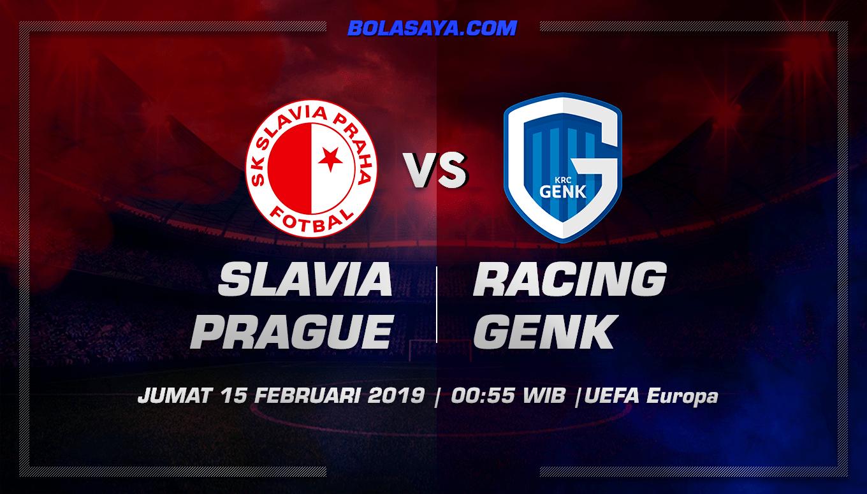 Prediksi Taruhan Bola Slavia Prague vs Racing Genk  15 Februari 2019