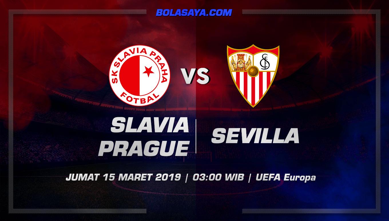 Prediksi Taruhan Bola Slavia Prague vs Sevilla 15 Maret 2019