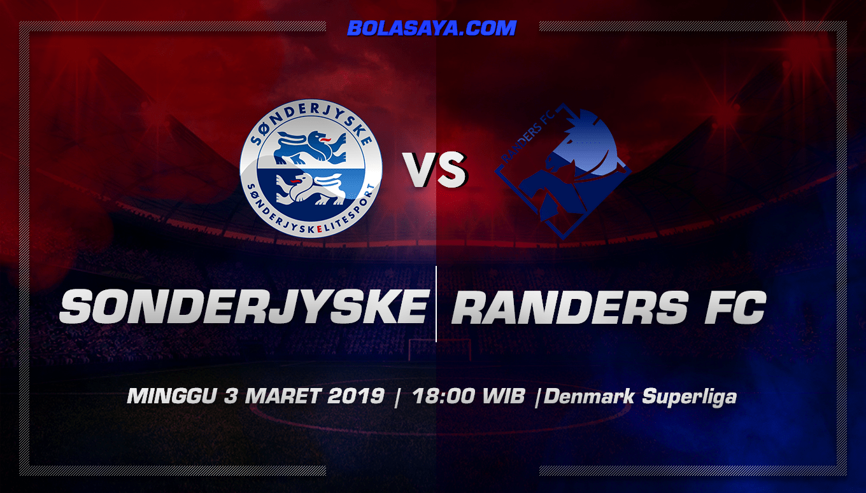 Prediksi Taruhan Bola Sonderjyske vs Randers 3 Maret 2019
