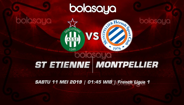 Prediksi Taruhan Bola St Etienne vs Montpellier 11 Mei 2019