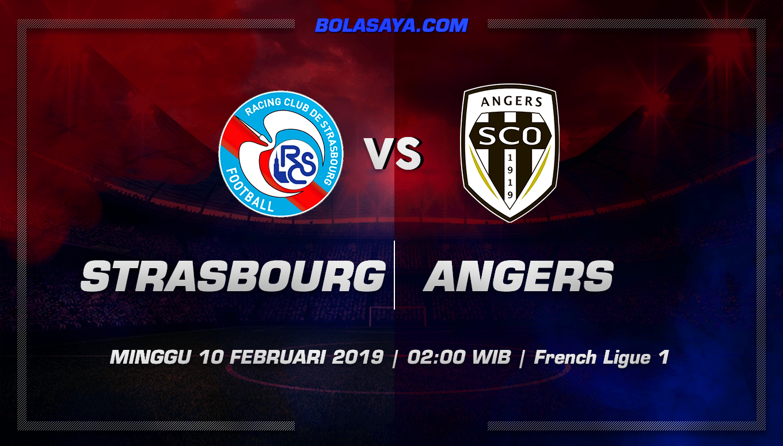 Prediksi Taruhan Bola Strasbourg vs Angers 10 Februari 2019