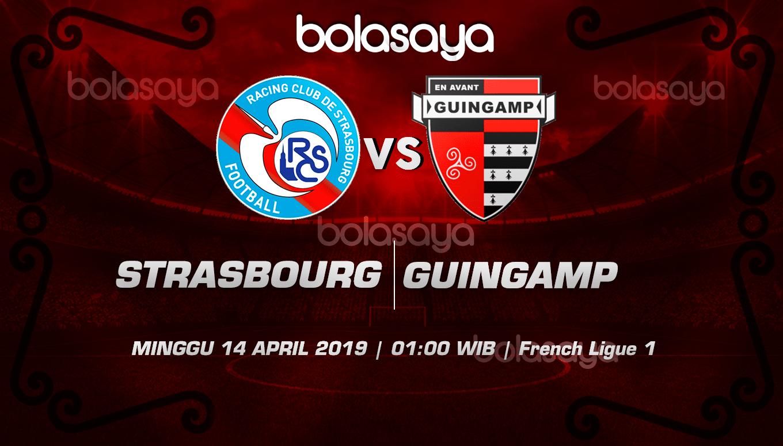 Prediksi Taruhan Bola Strasbourg vs Guingamp 14 April 2019