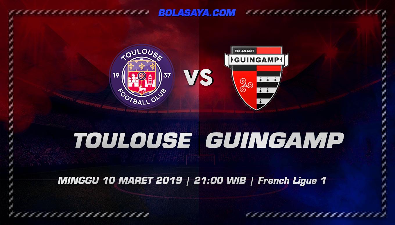 Prediksi Taruhan Bola Toulouse vs Guingamp  10 Maret 2019