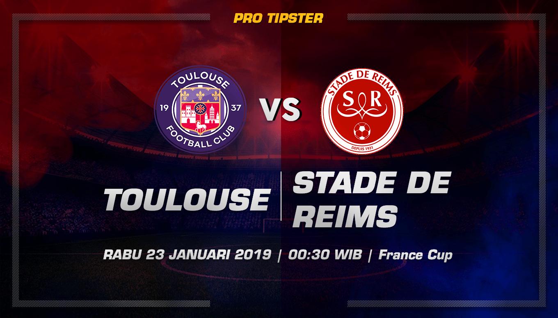 Prediksi Taruhan Bola Toulouse vs Stade de Reims 23 Januari 2019