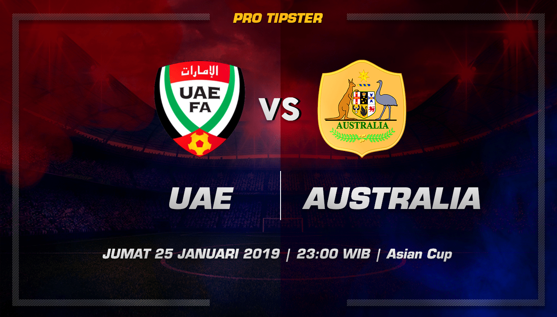 Prediksi Taruhan Bola UAE vs Australia 25 Januari 2019