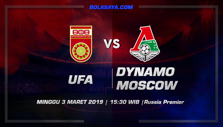 Prediksi Taruhan Bola Ufa vs Dinamo Moscow 3 Maret 2019