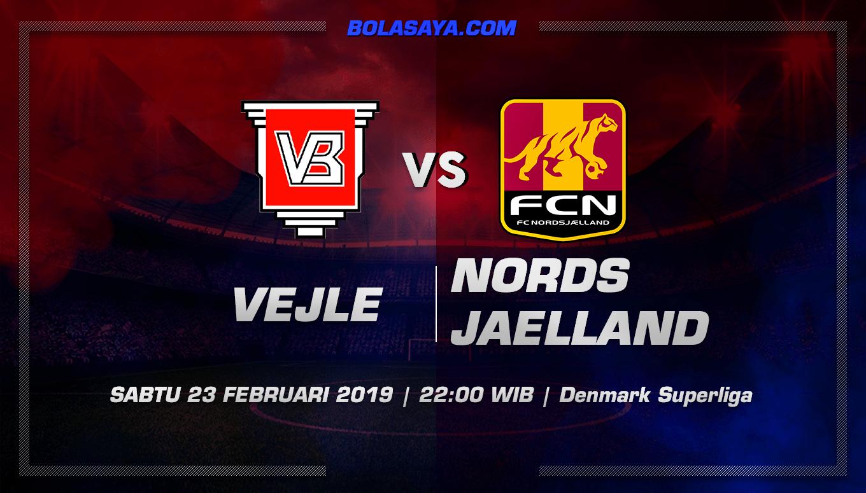 Prediksi Taruhan Bola Vejle vs Nordsjaelland  23 Februari 2019