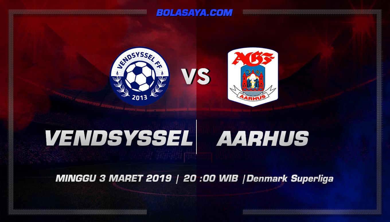 Prediksi Taruhan Bola Vendsyssel vs AGF Aarhus 3 Maret 2019
