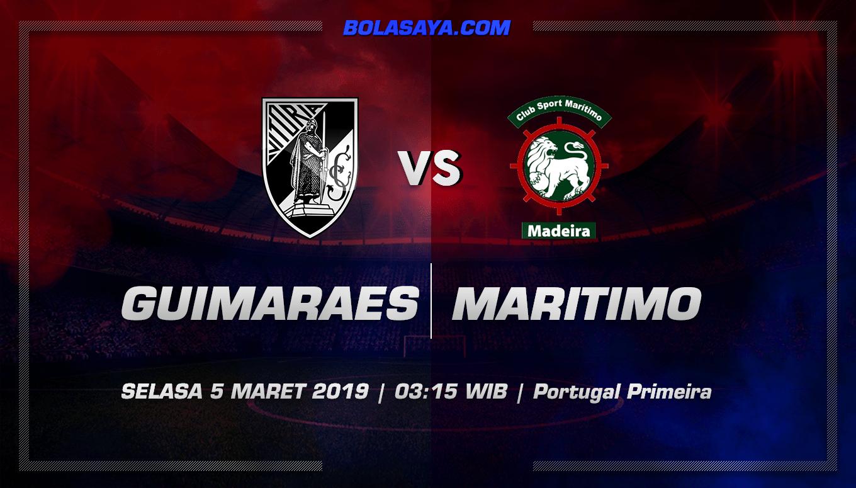 Prediksi Taruhan Bola Vitoria Guimaraes vs Maritimo 5 Maret 2019