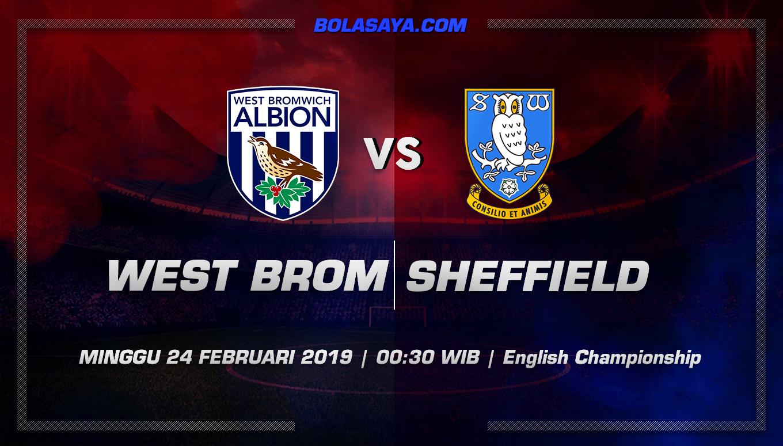 Prediksi Taruhan Bola West Brom vs Sheffield Utd 24 Ferbuari 2019