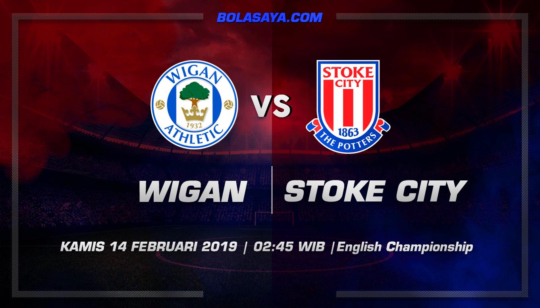 Prediksi Taruhan Bola Wigan vs Stoke 14 Februari 2019