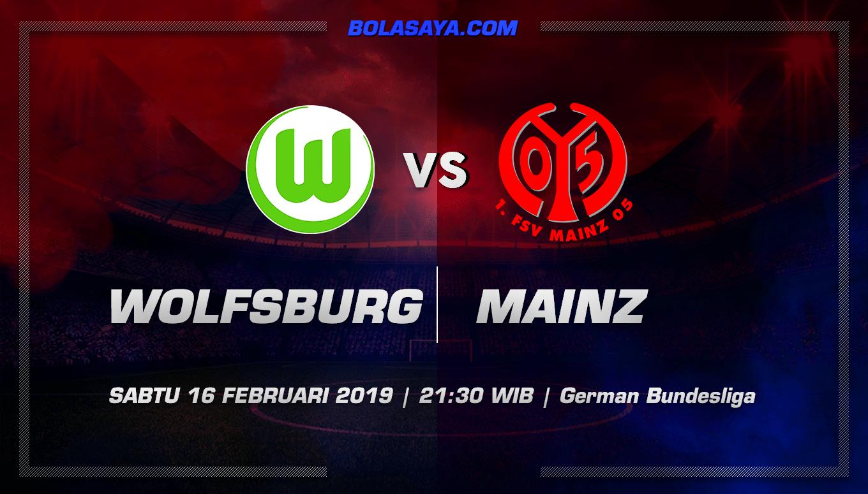 Prediksi Taruhan Bola Wolfsburg vs Mainz 16 Februari 2019
