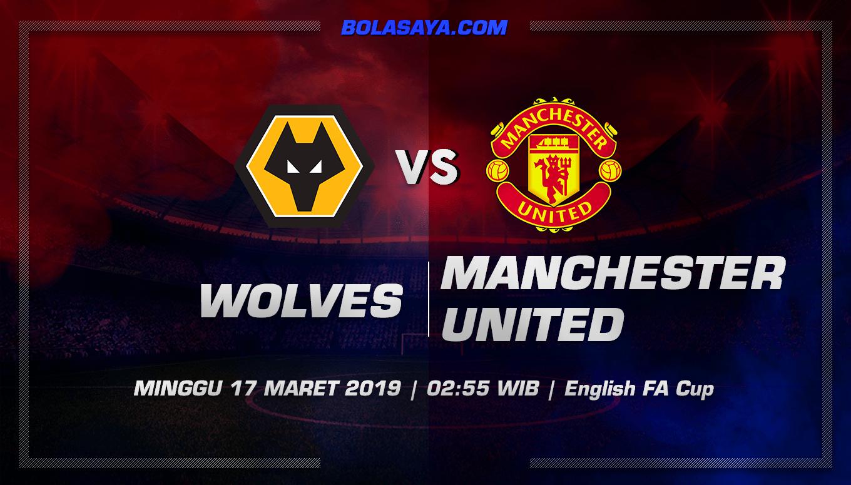 Prediksi Taruhan Bola Wolverhampton vs Manchester United 17 Maret 2019