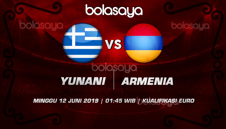 Prediksi Taruhan Bola Yunani vs Armenia 12 Juni 2019