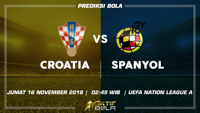 Cuplikan Gol Kroasia vs Spanyol 16 November 2018