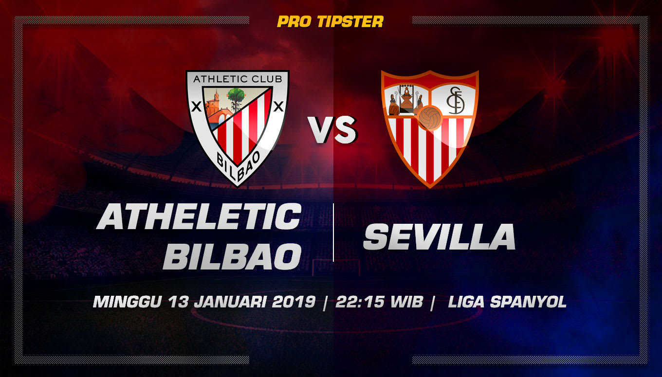 Prediksi Taruhan Bola Athletic Bilbao vs Sevilla 13 Januari 2019