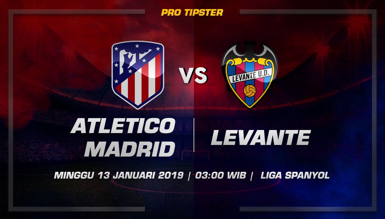 Prediksi Taruhan Bola Atletico Madrid vs Levante 13 Januari 2019
